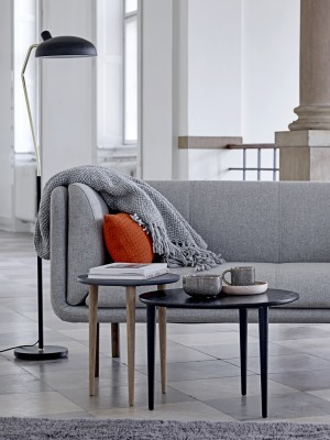 Stay Sofa, Grey, Wool