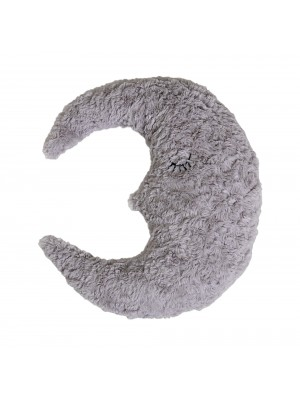 Moon Cushion, Grey, Polyester