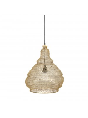 Pendant Lamp, Gold, Metal