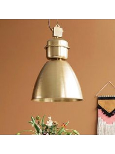 LAMP, VOLUMEN, BRASS FINISH
