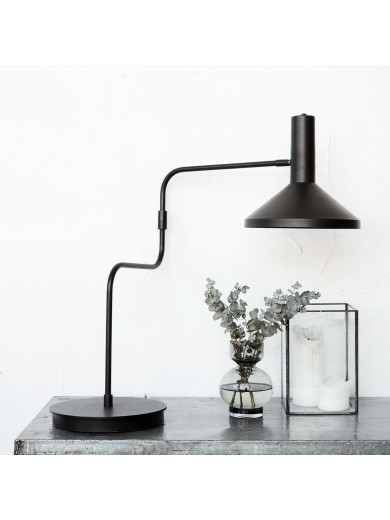 TABLE LAMP, MALL MADE, BLACK