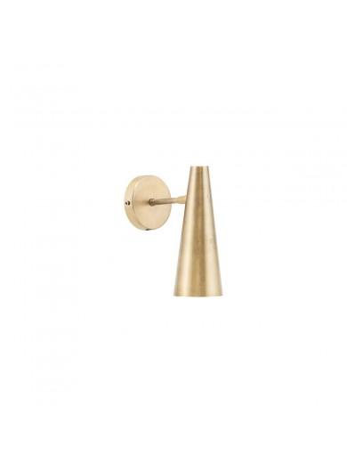 WALL LAMP, PRECISE, BRASS FINISH