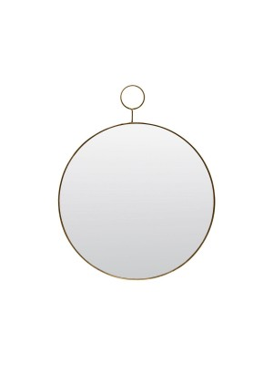MIRROR, THE LOOP, BRASS