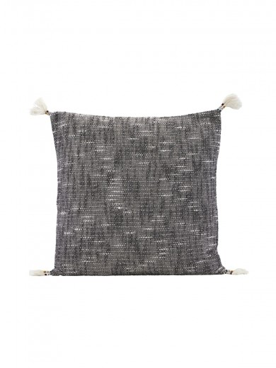 PILLOWCASE, TASSI, BLACK