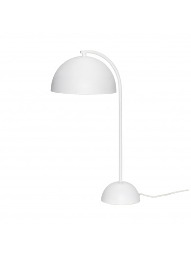 Table lamp, metal, white