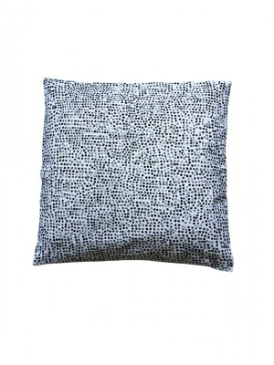 coussin lin grafic